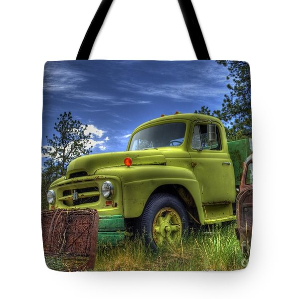 Green International Tote Bag