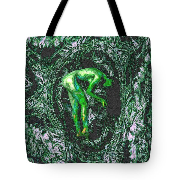 Gaia Earthly Goddess Nymph Farie Mother Earth Fine Art Print Tote Bag by David Mckinney