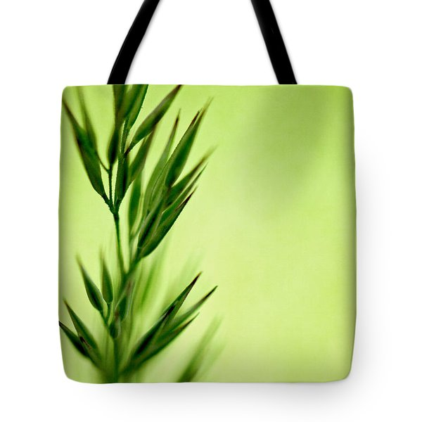 Green Tote Bag by Lois Bryan