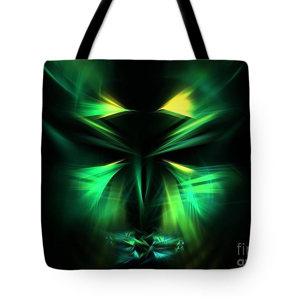 Green Man Tote Bag by Kim Sy Ok