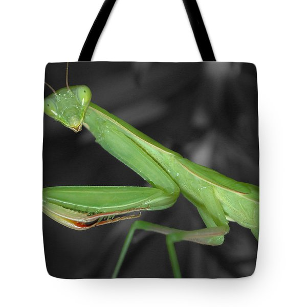 Green Mantis Tote Bag