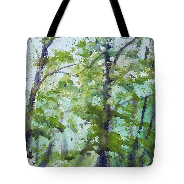 Green Morning 2 Tote Bag