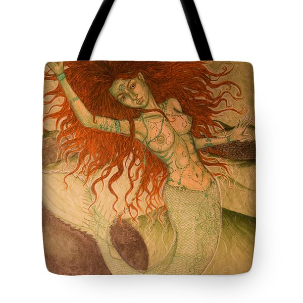 Green Moss Kingdom Tote Bag