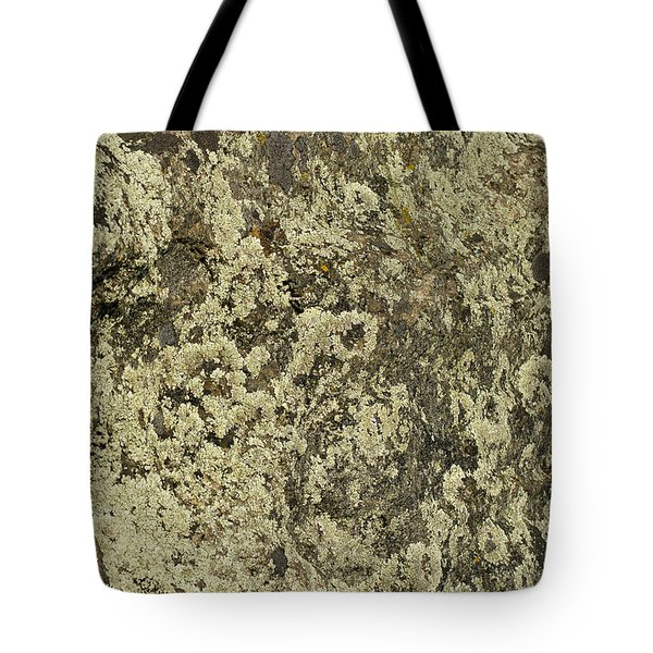 Tote Bag featuring the photograph Green Moss by Les Palenik