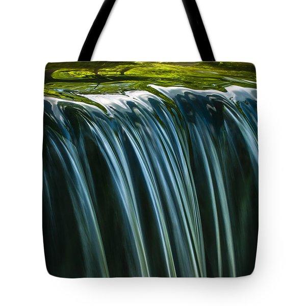 Green Tote Bag by Muhie Kanawati
