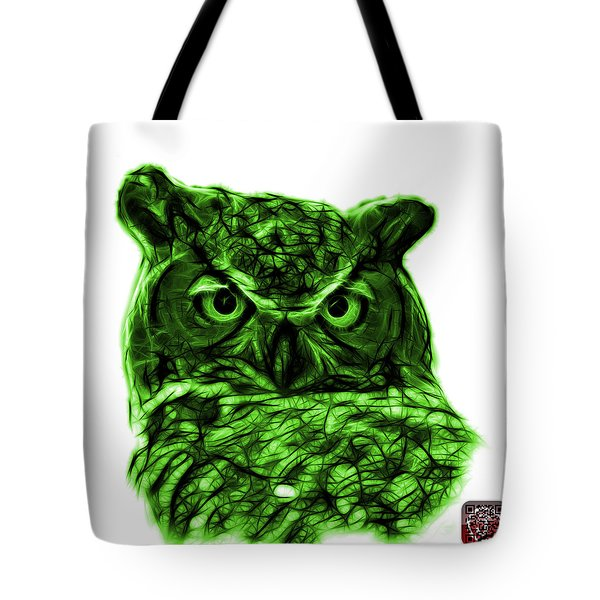 Green Owl 4436 - F S M Tote Bag