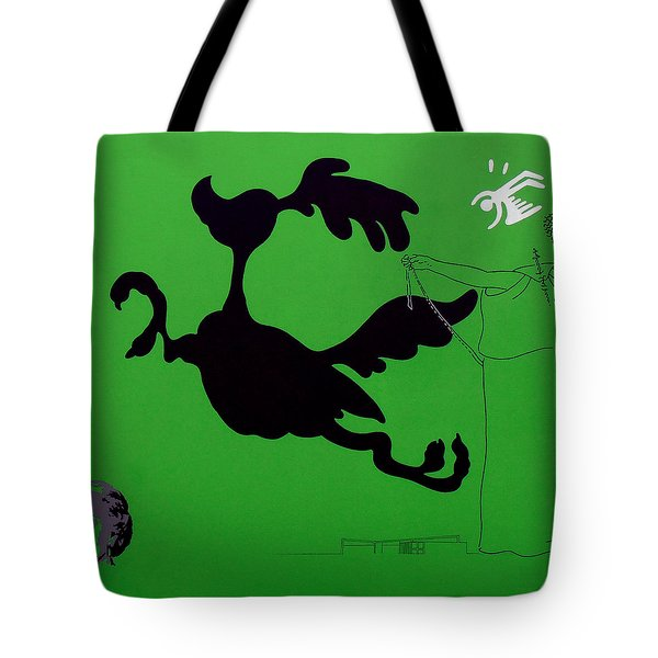 Green Palm Springs Idyll Tote Bag