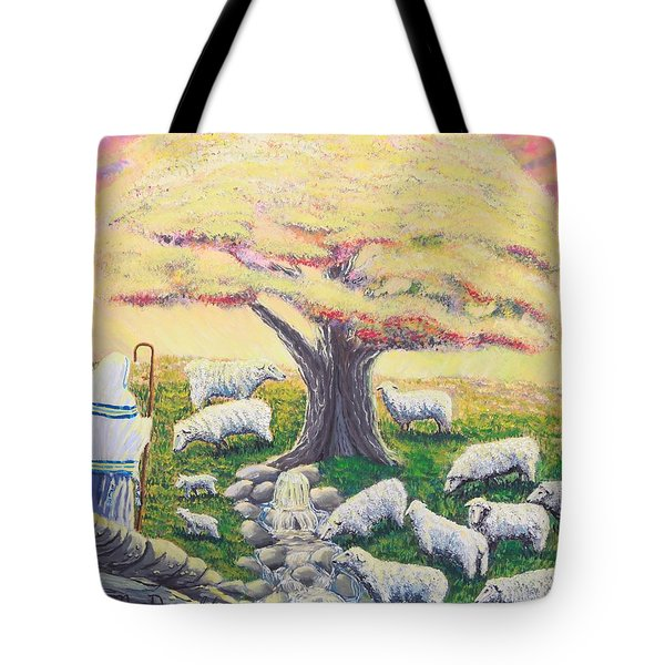 Green Pasture  Tote Bag