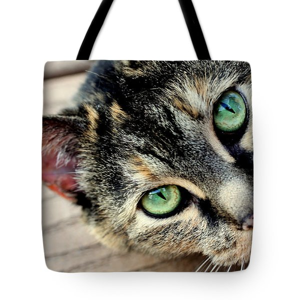 Green Pepper Tote Bag