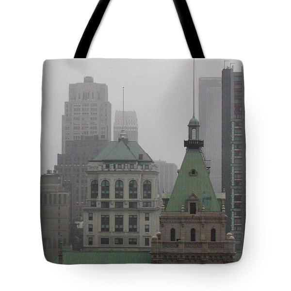 Green Roof Tote Bag