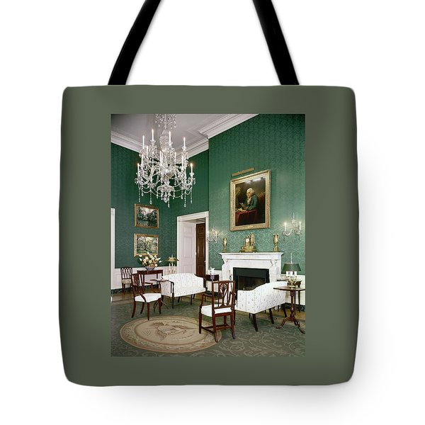 Green Room In The White House Tote Bag