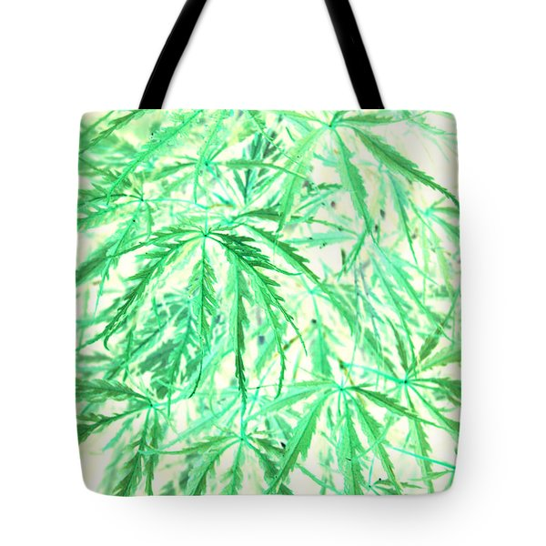 Tote Bag featuring the photograph Green Splender by Jamie Lynn