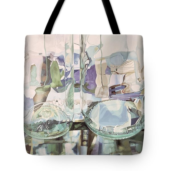 Green Transparency Transparence Verte 1981 Oil On Canvas Tote Bag