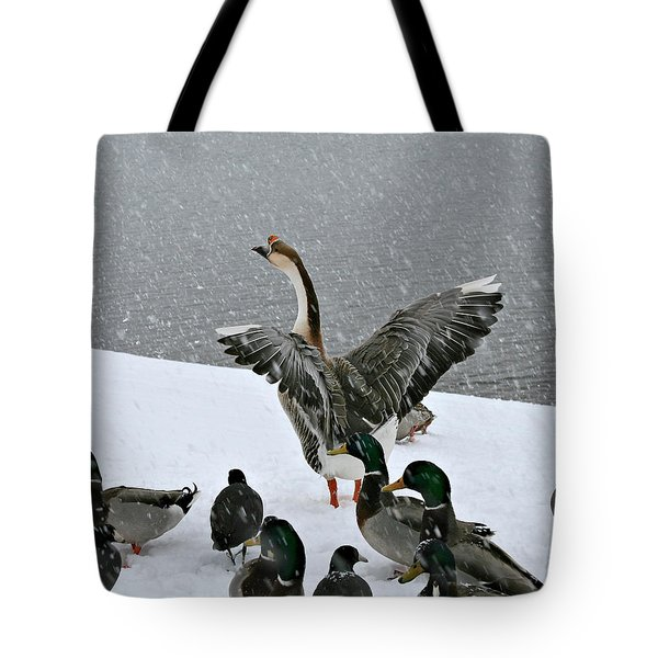 Green Valley Ducks Tote Bag