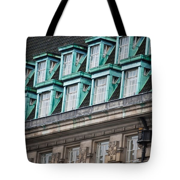 Green Windows Tote Bag