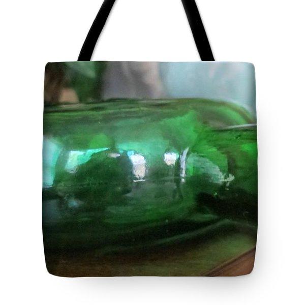 Green With Envy Tote Bag by Arlene Carmel