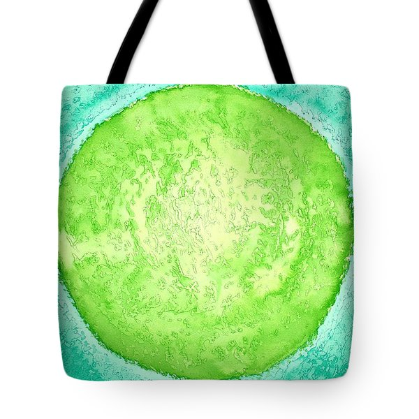 Green World Original Painting Tote Bag