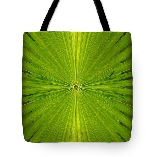 Greenburst Tote Bag