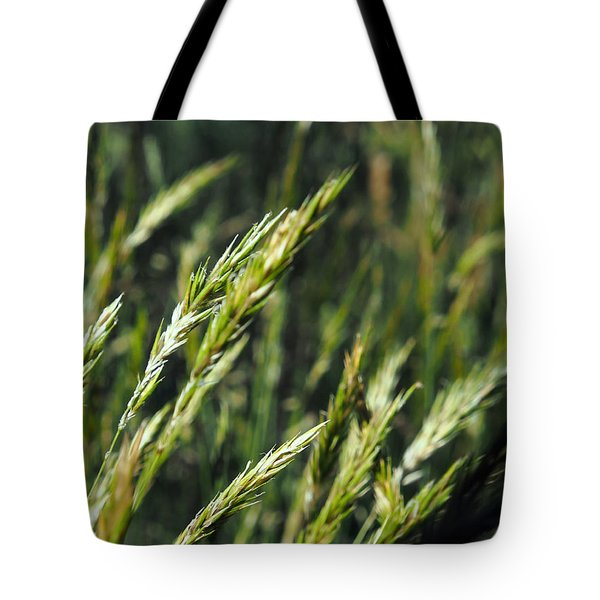 Greener Grass Tote Bag by Justin Woodhouse