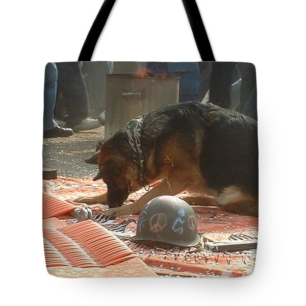 Greenpeace Dog Tote Bag