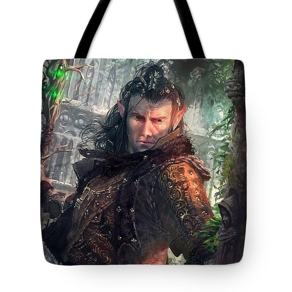 Greenside Watcher Tote Bag by Ryan Barger