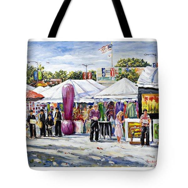 Greenwich Art Fair Tote Bag