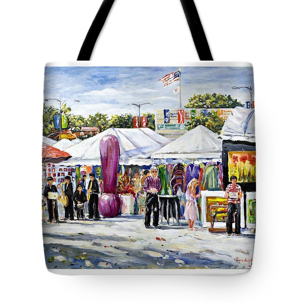 Greenwich Art Fair Tote Bag