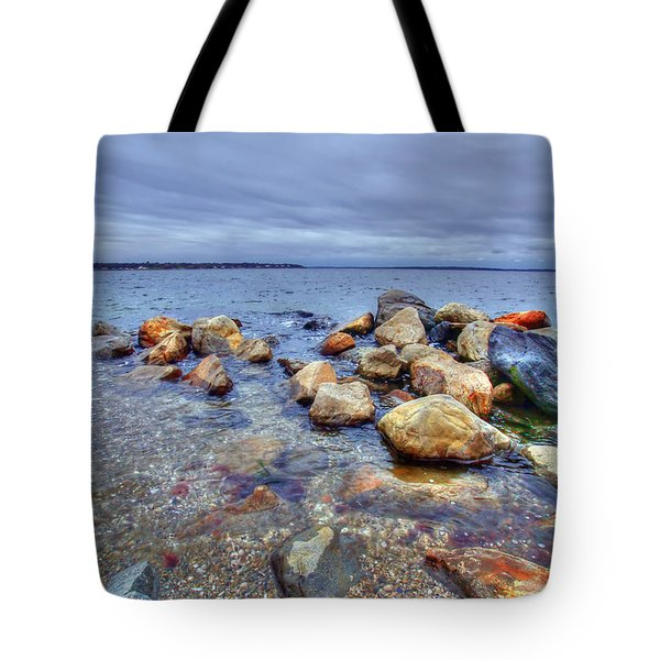 Tote Bag featuring the photograph Greenwich Bay by Alex Grichenko