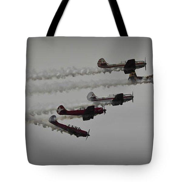Greenwood Lake Airshow Northeast Raiders Tote Bag