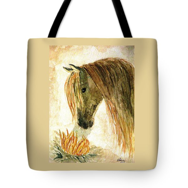 Greeting A Sunflower Tote Bag