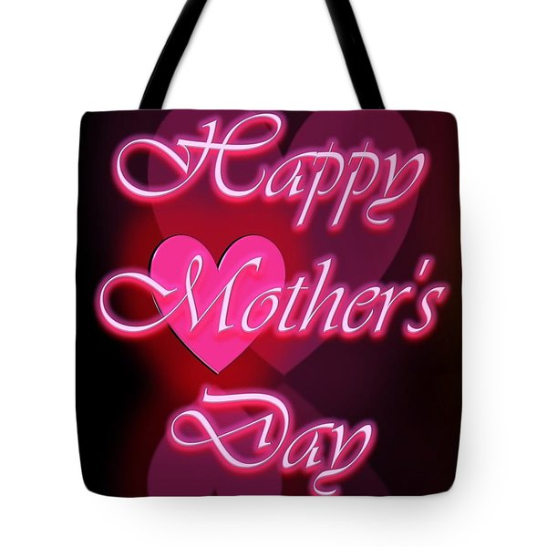 Tote Bag featuring the digital art Greeting Card For Mothers 1 by Cyril Maza