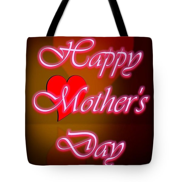 Tote Bag featuring the digital art Greeting Card For Mothers 2 by Cyril Maza