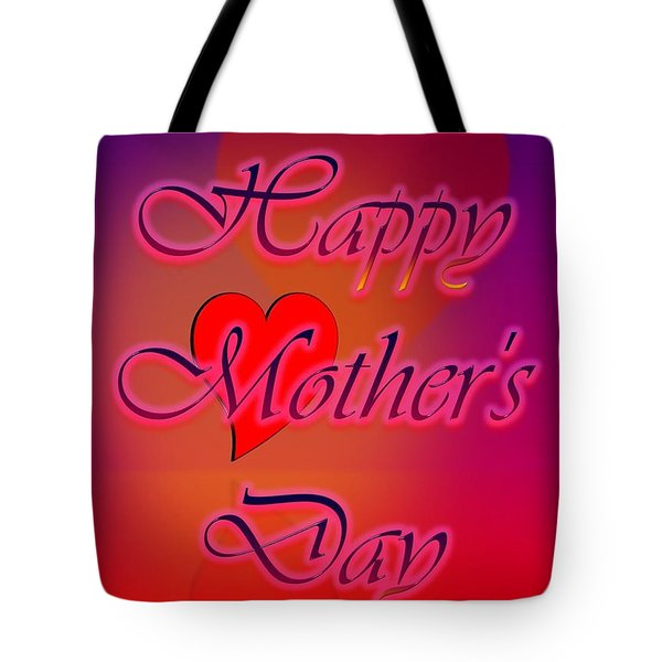 Tote Bag featuring the digital art Greeting Cards For Mothers 4 by Cyril Maza