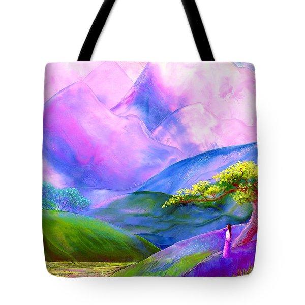 Greeting The Dawn Tote Bag