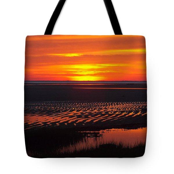 Greetings Tote Bag by Dianne Cowen