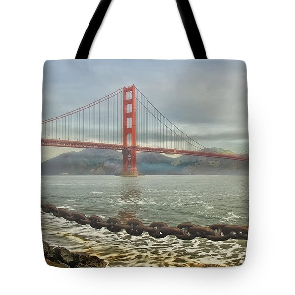 Greetings From San Franciosco Tote Bag
