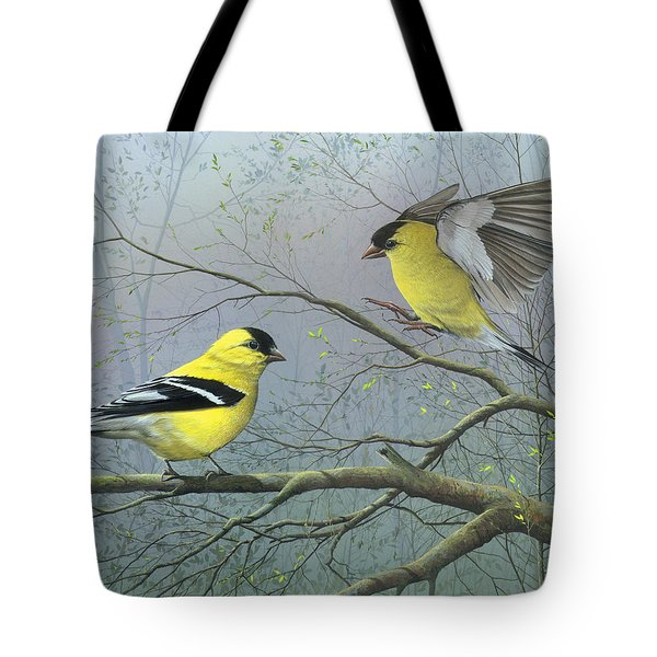 Greetings My Friend Tote Bag