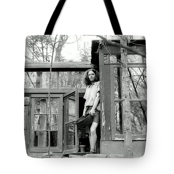 Greg's Solar Home 1979 Tote Bag by Ed Weidman