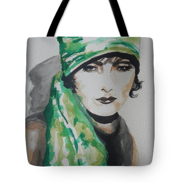 Greta Garbo Tote Bag by Chrisann Ellis