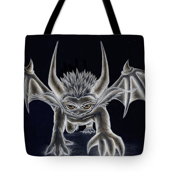 Tote Bag featuring the painting Grevil Inverted by Shawn Dall