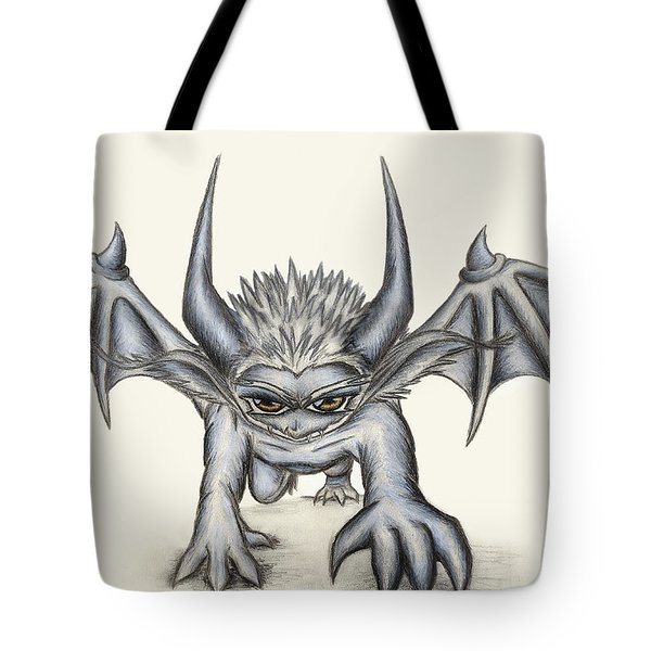 Tote Bag featuring the painting Grevil by Shawn Dall