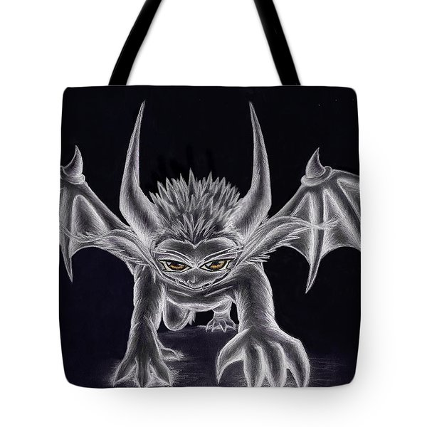 Tote Bag featuring the painting Grevil Silvered by Shawn Dall
