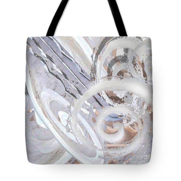 Grey Abstraction 3 Tote Bag by Eva-Maria Becker