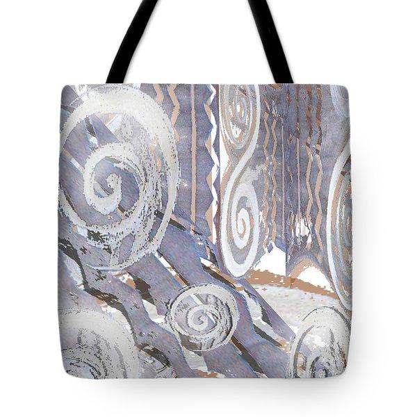 Grey Abstraction 4 Tote Bag by Eva-Maria Becker
