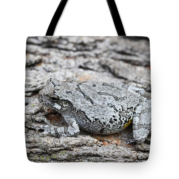 Tote Bag featuring the photograph Cope's Gray Tree Frog by Judy Whitton