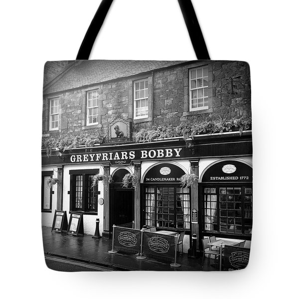 Greyfriars Bobby In Edinburgh Scotland  Tote Bag