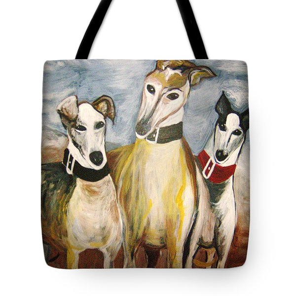 Greyhounds Tote Bag