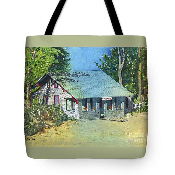 Graynook Tote Bag by LeAnne Sowa