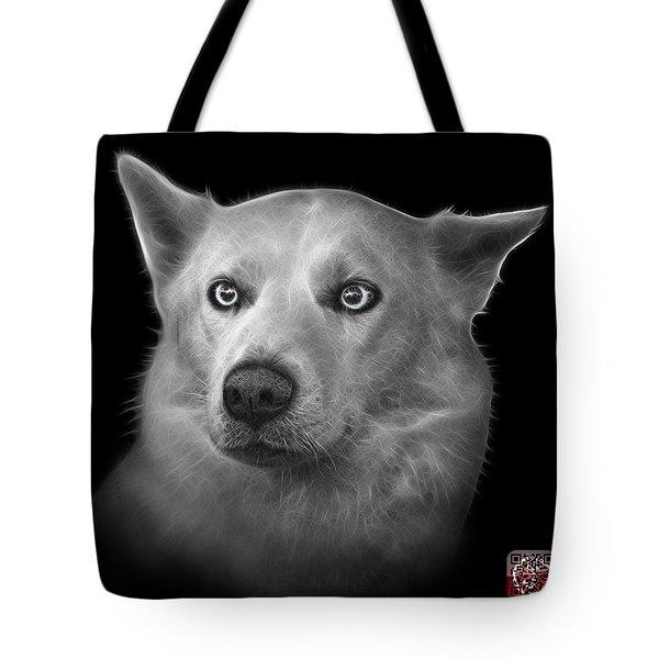 Greyscale Mila - Siberian Husky - 2103 - Bb Tote Bag