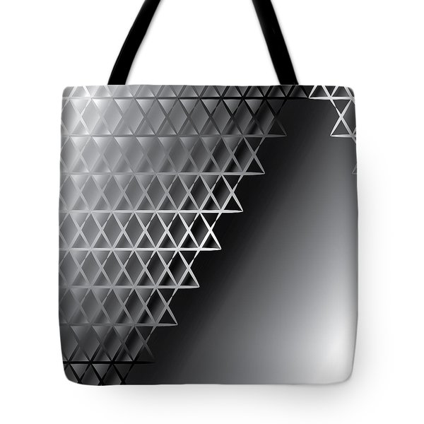 Grid 60 Float Tote Bag